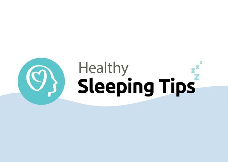 Sleep Tips illustration.