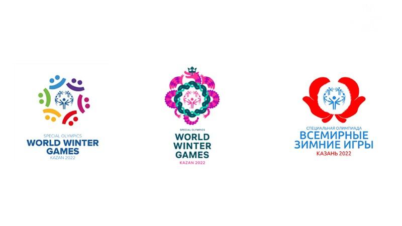 Three finalist logos side by side.