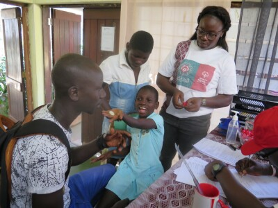 Medical exam in Guinea-Bissau