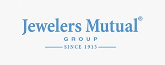 Jewelers Mutual group since 1913 logo in blue.