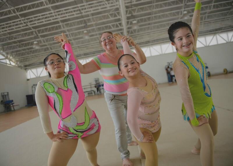 Rhythmic Gymnastics Banner