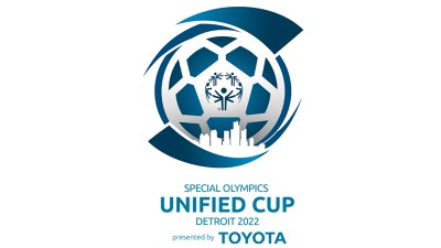 Special Olympics Unified Cup Detroit 2022 presented by Toyota logo.
