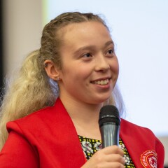 Kiera Byland, Special Olympics Health Messenger and Global Athlete Leadership Council