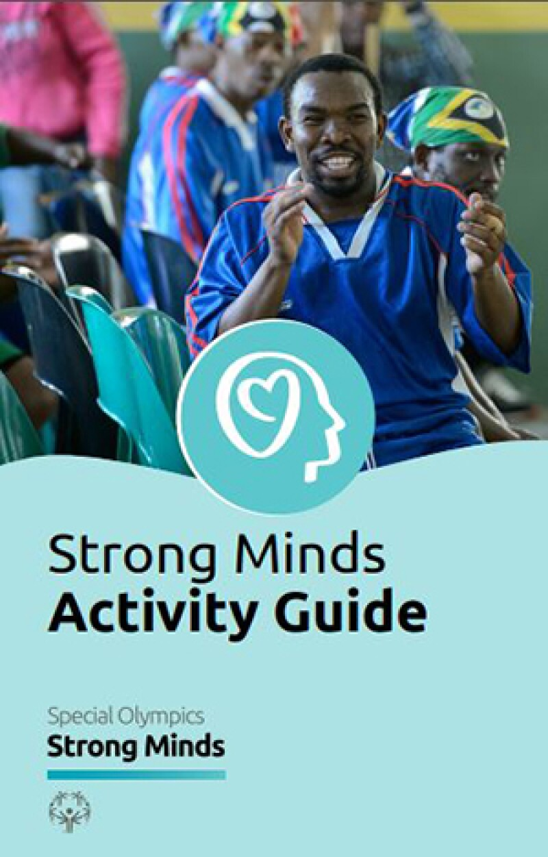 Strong minds activity guide image.