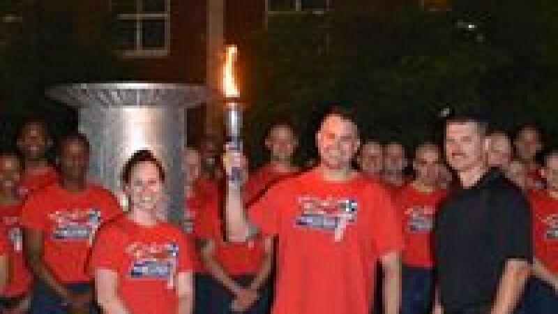 Summer Games Torch Run Caldron