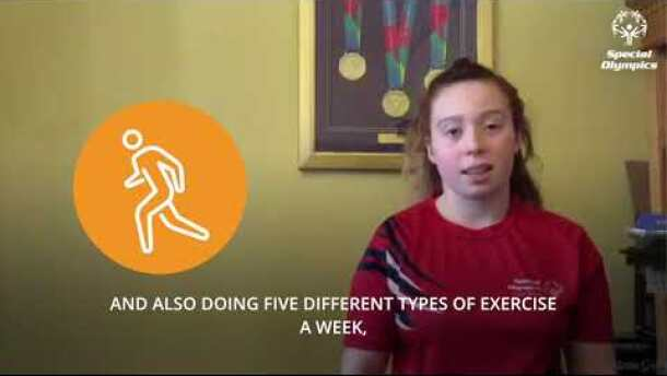 STAYING FIT AT HOME—Sports Lesson from Kiera