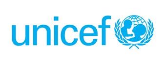 UNICEF logo in blue