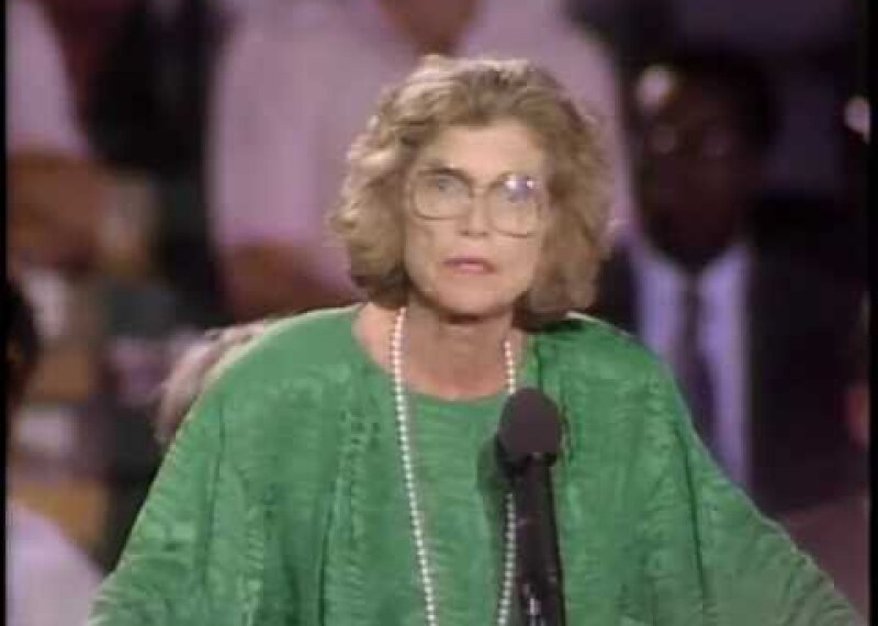 """Eunice Kennedy Shriver-""""A Message of Hope, A Message of Victory"""""""