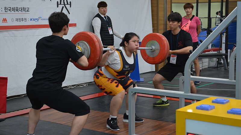 Special Olympics Korea Held National Weight Lifting Championship