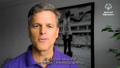 Tim Shriver speaking
