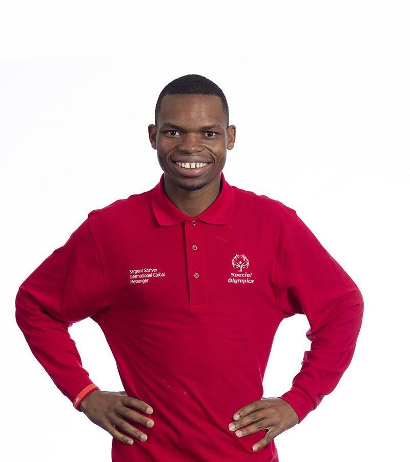 Nyasha Derera, Special Olympics International Board Member and athlete leader from Special Olympics Zimbabwe.