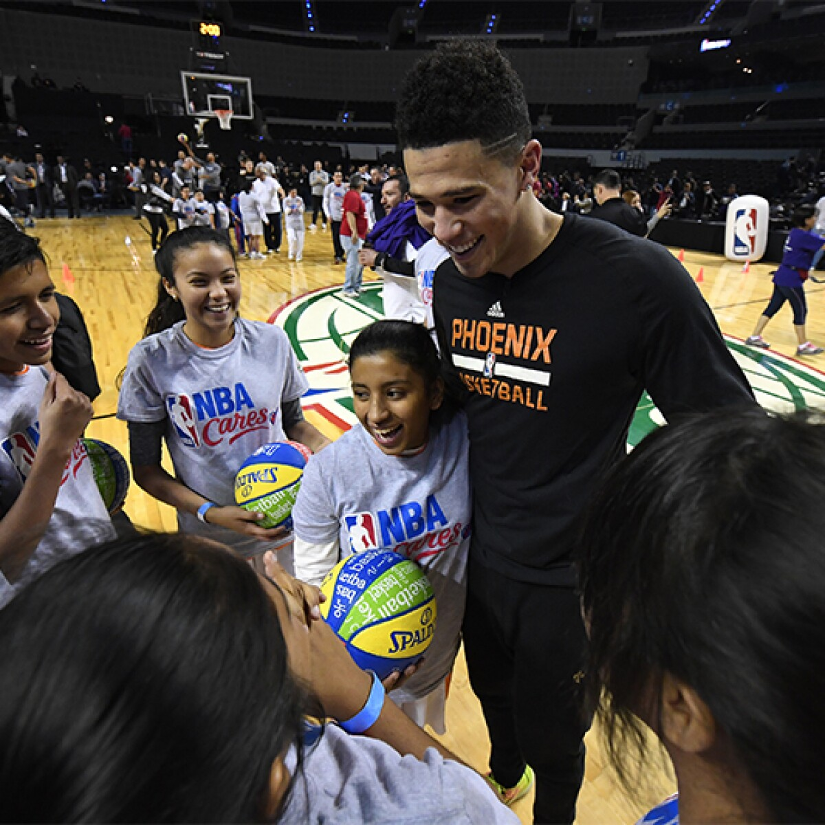 Phoenix Suns All Star Devin Booker Named Newest Special Olympics