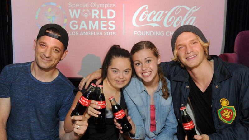 "Coca-Cola and Special Olympics Launch Unified Song ""Reach Up"""