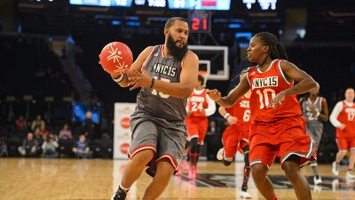 This year marks the 8th Annual NBA Cares Special Olympics Unified Sports® Game