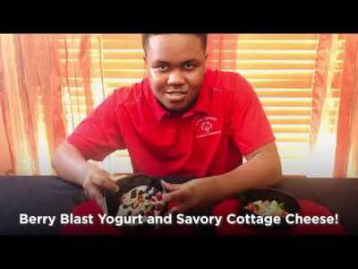 SnackDown: Berry Blast Yogurt and Savory Cottage Cheese Recipes