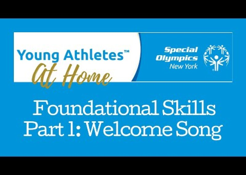 Young Athletes Foundational Skills Part 1: Welcome Song