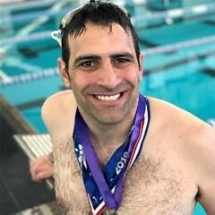 Benjamin Prousnitzer - Olimpiadas Especiales Arkansas (EEUU) - Natación