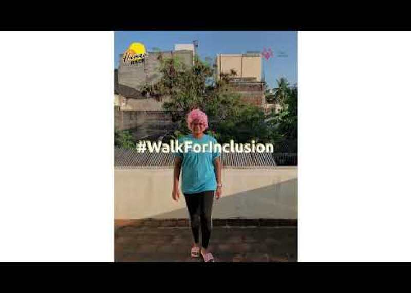 Let's all do the #WalkForInclusion