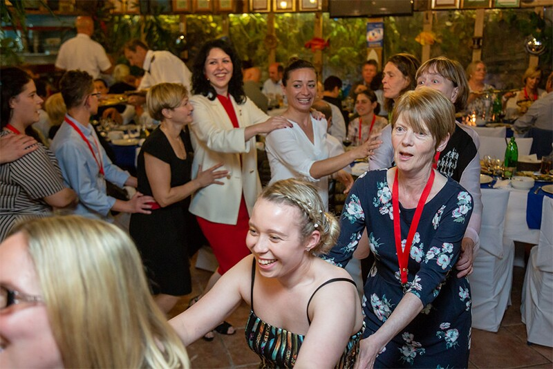 There was serious business to discuss at the Special Olympics Europe Eurasia Leadership Conference but there was also time for a conga line!