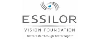Essilor Vision Foundation: Better life through better sight logo