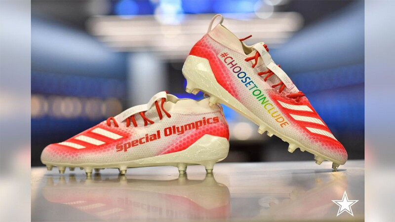 Dallas Cowboys' Michael Gallup's Special Olympic Cleats