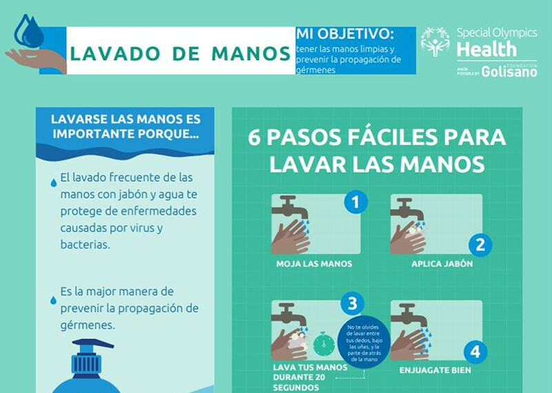 Handwashing poster illustration.