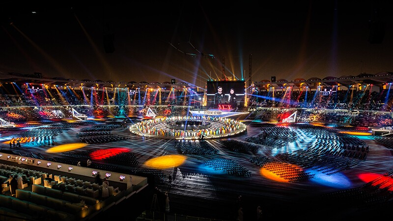 World Games Abu Dhabi 2019 opening games ceremony.