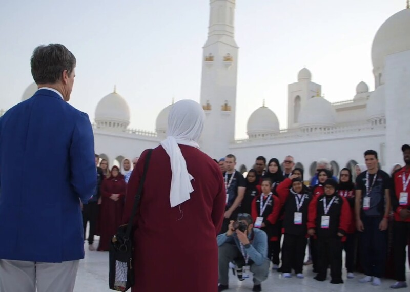 New Zealand Special Olympics Athletes Show Solidarity Amid Grief at Sheikh Zayed Grand Mosque