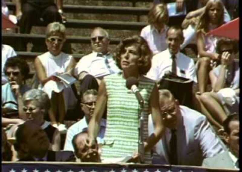 Eunice Kennedy Shriver's Charge to the Athletes at Inaugural World Games