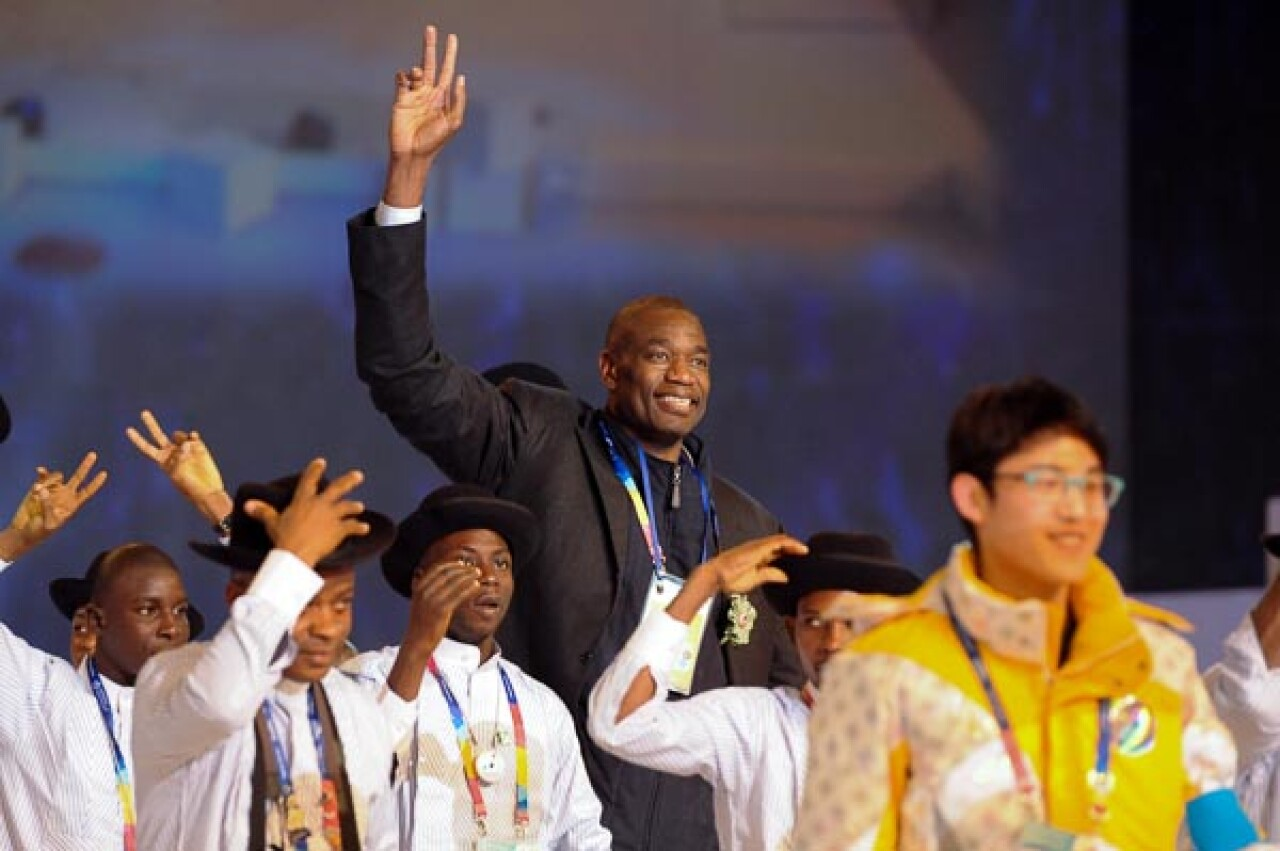 Nigeria--2013 Special Olympics World Winter Games  Opening Cerem