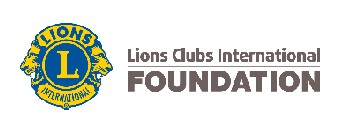 Lions Club International logo.