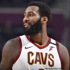 Andre Drummond in a Cleveland Cavaliers jersey.