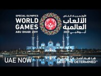"#MeetTheDetermined: UAE Now"" in 360 VR with Special Olympics World Games Abu Dhabi 2019"