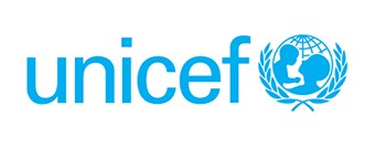 UNICEF logo in blue