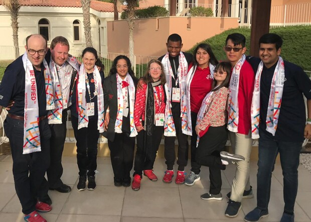 Sargent Shriver International Global Messenger class of 2019-2022
