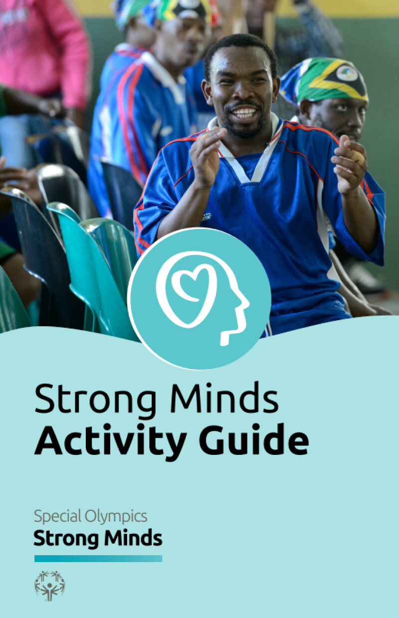 strong minds activity guide cover