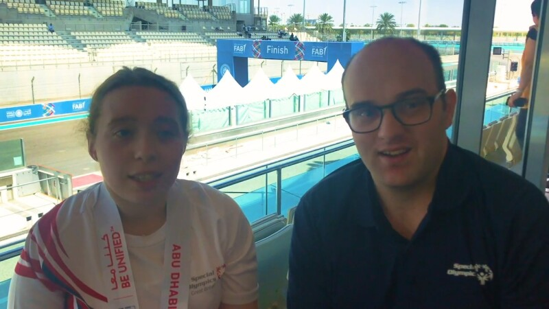 Daniel Smrokowski and Keira Byland