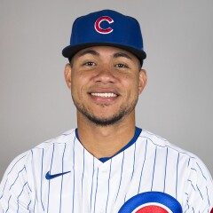 Willson Contreras on 2020 Chicago Cubs Photo Day