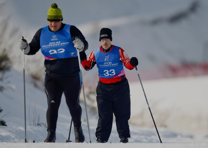 Cross Country Skiing Banner
