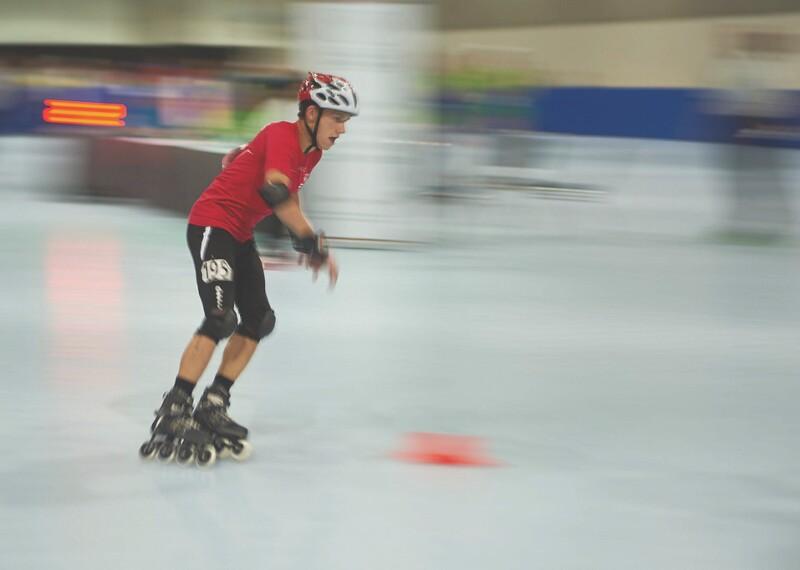 Roller Skating Banner