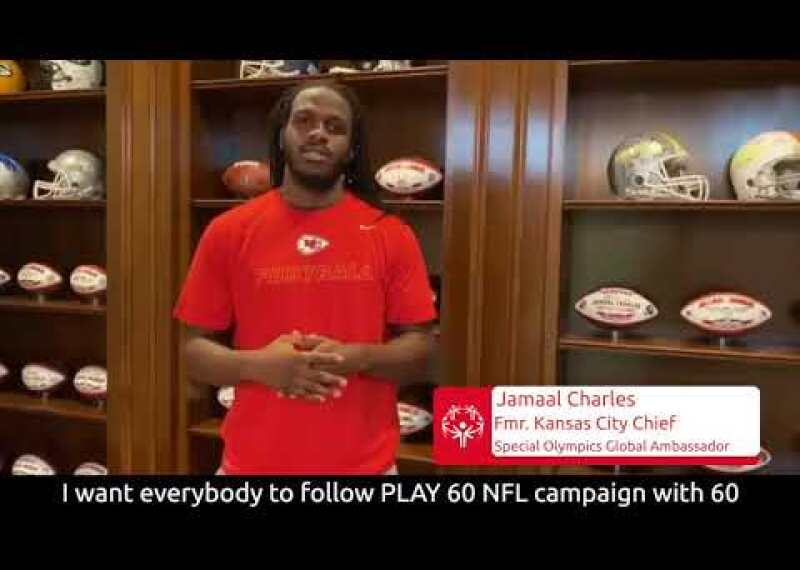 NFL Play 60 and Special Olympics Team Up For Inclusive Fitness