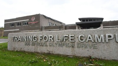 Photo of the training for life campus for the Special Olympics.