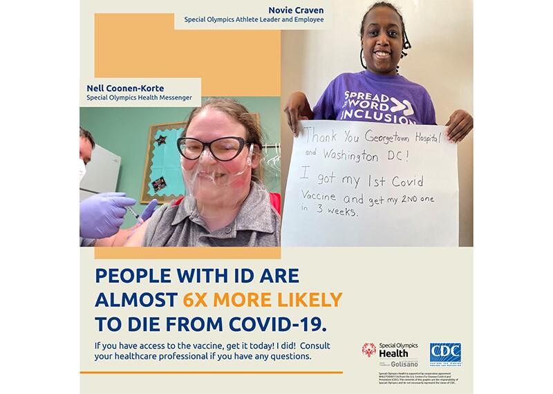 US Instagram COVID Vaccine Social Media image