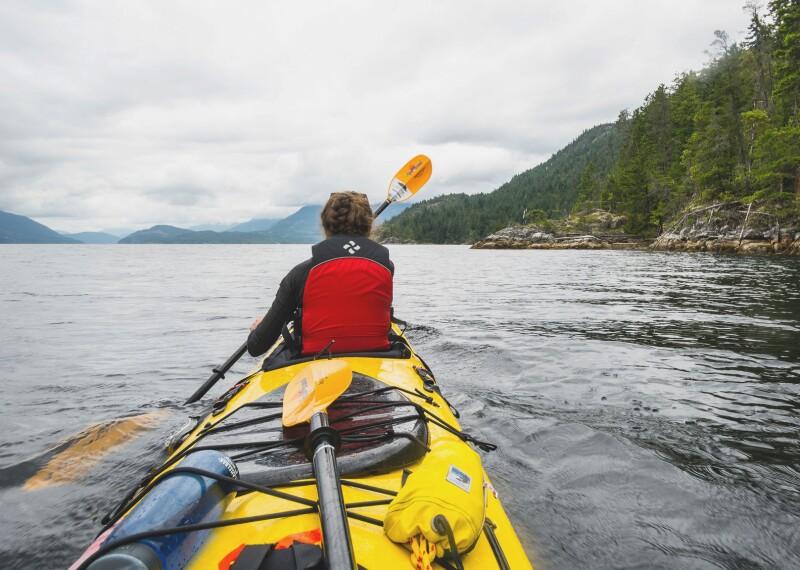 kayak banner