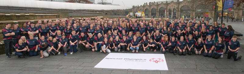 Special Olympics World Games 2019 Team group outdoor shot