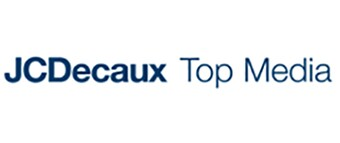 JC Decaux Top Media logo in blue.