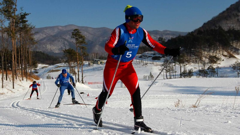 Cross Country Skiing Lead