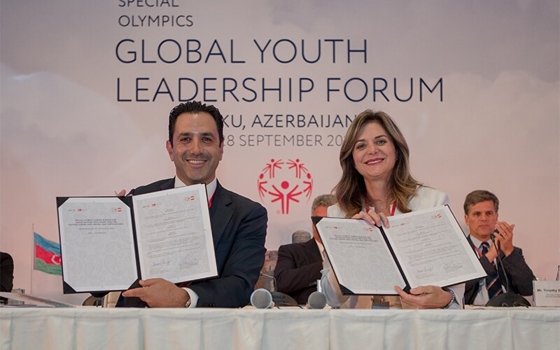 An important partnership for inclusion was also signed between Special Olympics and the United Nations Population Fund during the Opening Day