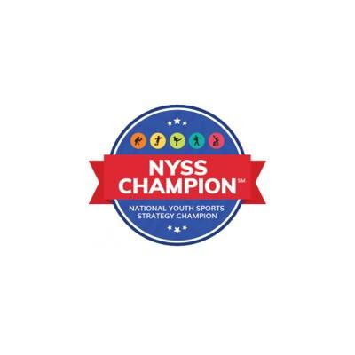 national youth sports strategy champion logo.