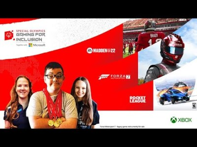 Rocket League Tournament Rebroadcast [ASL] - Special Olympics Gaming For Inclusion 2021